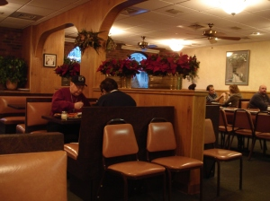 Ernie's is more of a sit-down restaurant than many local pizzerias.